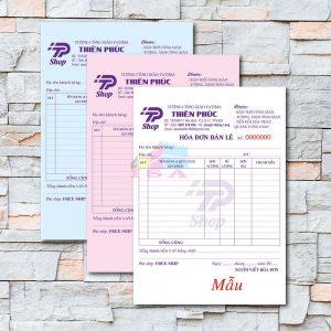 hóa đơn bán lẻ